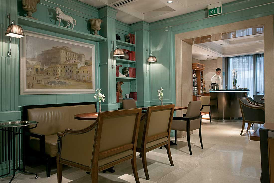 Hotel Stendhal, boutique hotel in Rome Italy