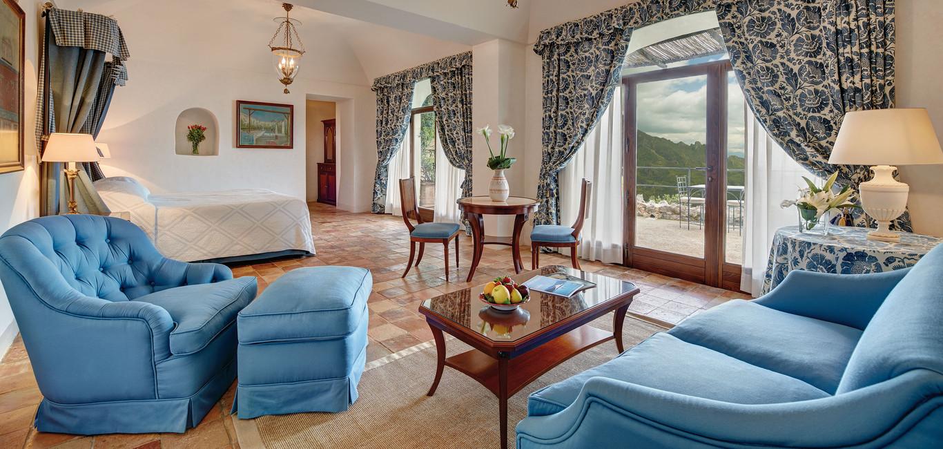 Suite Deluxe - Hotel Caruso Ravello Italy