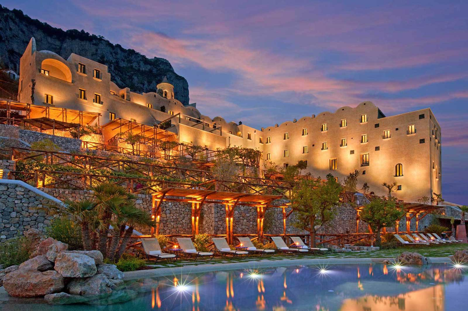 Monastero Santa Rosa, Luxury hotel on the Amalfi Coast (Conca dei Marini)